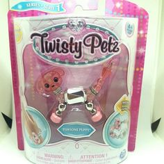NEW in factory sealed package, Spin Master Twisty Petz, PAWSOME PUPPY Series 1 Make a bracelet or twist into a pet. Birthday Cake Girls, 7th Birthday, Bookshelves For Small Spaces, Cool Toys For Girls, Christmas Gifts For Girls, Pool Toys, Preschool Toys, Kids Jewelry, Toy Sale