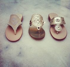 Jack Rogers Sandals-In Love-What wld they not match?