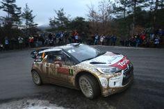 Partito il Rally di Montecarlo, Loeb subito protagonista