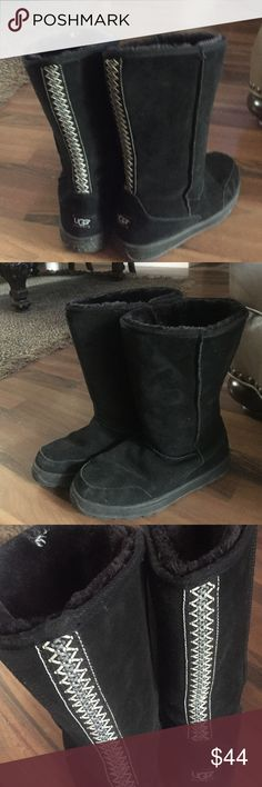 Winter boots Great condition tall black ugg  snowboots Shoes Winter & Rain Boots