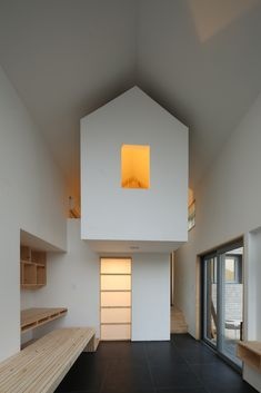 Image 3 of 19 from gallery of Yejin's Jip-Soori / Moohoi Architecture Studio. Photograph by Kim JaeKwan Architecture Details, Interior Architecture, Interior And Exterior, Interior Design Living Room, Interior Decorating, Room Interior, Sustainable Building Design, Colorful Furniture, Decoration