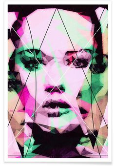 Neutral Line - Mayka Can2ienova - Premium Poster