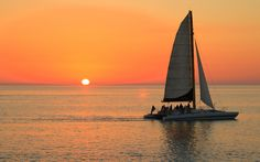 Clearwater Beach Sunset with Kai Lani Sailing