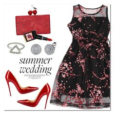 """""""Summer Weddings"""" by oshint ❤ liked on Polyvore featuring Christian Louboutin, Edie Parker, Yves Saint Laurent and Smashbox"""