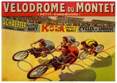 Velodrome du Mont Posters by Marcellin Auzolle from AllPosters.com