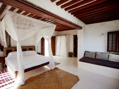 Kenya Coast Villa Rental: Luxury Beachfront Holiday House, Pool Garden All Sea Views, Forodhani House Lamu | HomeAway
