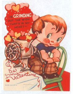Meat Grinding Valentine by pageofbats, via Flickr