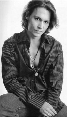 Johnny Depp Omg I love this photo!