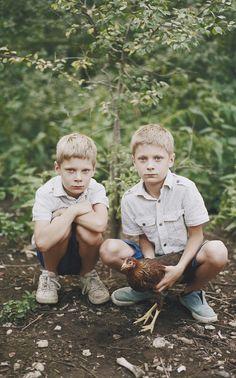Braian and Ryan by Birgit Puve