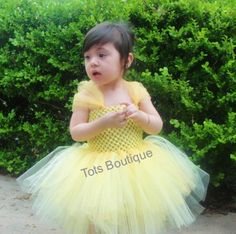 Belle Princess Tutu Dress Infant by totsboutique on Etsy, $30.00