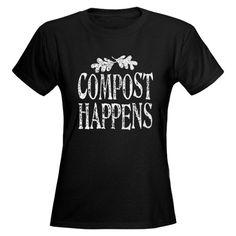 Compost Womens Dark T-Shirt