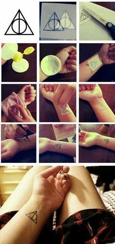 "Harry potter ""tattoo"""