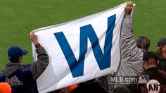 Fly the W While the Nationals and Dodgers still have a Game 5 on Thursday to determine who Chicago will meet in the NLCS, we know one thing for sure: We'll see you at Wrigley Field for Game 1 on Saturday on FOX/FS1.