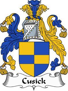 Cusick Clan Coat of Arms