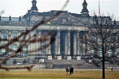 Berlin   West Berlin. Reichstag, 1986