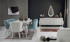 Nirvana Yemek Odası Takımı Tarz Mobilya | Evinizin Yeni Tarzı '' O '' www.tarzmobilya.com ☎ 0216 443 0 445 📱Whatsapp:+90 532 722 47 57 #yemekodası #yemekodasi #tarz #tarzmobilya #mobilya #mobilyatarz #furniture #interior #home #ev #dekorasyon #şık #işlevsel #sağlam #tasarım #konforlu #livingroom #salon #dizayn #modern #rahat #konsol #follow #interior #armchair #klasik #modern