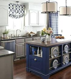 Blue Kitchen Curtains Walmart Blue And Grey Transitional Style Kitchen More Blue French Country Kitchen Curtains Royal Blue Kitchen Curtains