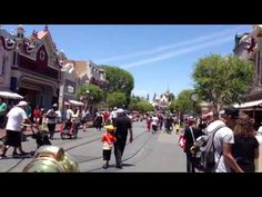 Live from Main Street #Disneyland Ride to the Castle on the fire engine