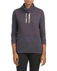 Juniors Brushed Sweatshirt: Size Medium or Large