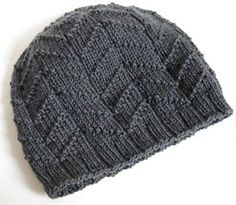 Quick and easy hat pattern, perfect for beginners or mindless knitting. Use any DK yarn, or a bulkier yarn for a bigger hat.