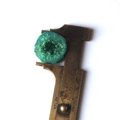 24ct Onyx Druzy Green Color Loose Cabochon Gemstone 00OD2#e