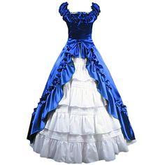 Partiss Damen Ruffles Vintage gotische Lolita Cosplay Abendkleid Partiss http://www.amazon.de/dp/B00YEEII1Q/ref=cm_sw_r_pi_dp_jtQ8vb0BN46Q8