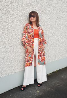 Zara kimono Fashion Challenge, Style Challenge, Chris De Burgh, 50 Style, Trending Now, Fashion Over 50, Memorable Gifts, Lady In Red