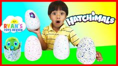 nice HATCHIMALS SURPRISE EGGS OPENING Magical Animals Hatching EGG Spin Master Kids Toys Ryan ToysReview