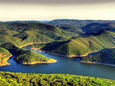 Monfragüe, Villarreal de San Carlos, Extremadura, Spain :Monfragüe by Alex Hangdog, via Flickr
