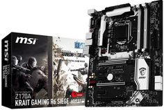 MSI Launches Rainbow Six Siege Themed Motherboard