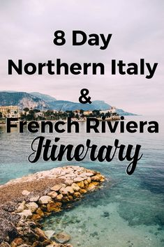 8 Day Northern Italy and French Riviera Itinerary - South of France Travel Guide 16 cities, 3 countries, all in 8 days. I traveled through Northern Italy down to the coast of Monaco and France this past week. It may sound like a lot (okay, it was) but itwas one of my favorite trips I've taken so far. It's easy to see so many different landscapes: from the crystal …