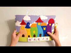 libro sensorial quietbook quiet book Maria (#quietbook)#handmade libro de fieltro - YouTube