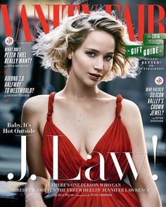 Jennifer Lawrence covers Vanity Fair #VanityFair #Fashion #Luxury #Style #Decor #JenniferLawrence