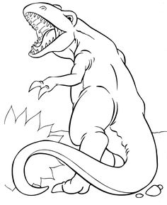 Dinosaur Coloring Pages 14 Animal Ideas Gallery