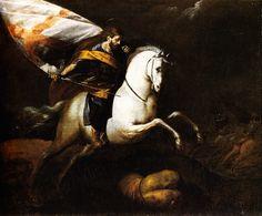 Giovanni Battista Crespi, detto il Cerano - San Giacomo sconfigge i mori - 1630