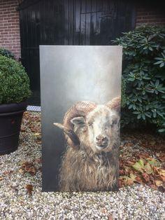 Wildlife Paintings, Wildlife Art, Animal Paintings, Cow Art, Horse Art, Funny Paintings, Sheep Art, Cow Painting, Farm Art