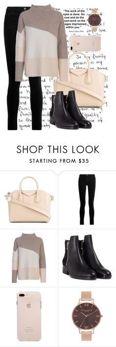 """Untitled #218"" by anna-nedelcheva ❤ liked on Polyvore featuring Givenchy, J Brand, French Connection, 3.1 Phillip Lim and Olivia Burton"