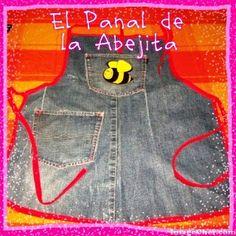 EL PANAL DE LA ABEJITA: RECICLANDO Y CREANDO CON JEANS!