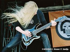 Jeff Loomis has some angelic hair