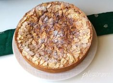 Prajitura tort cu mere si migdale Tiramisu, Camembert Cheese, Cooking, Sweet, Desserts, Recipes, Saintpaulia, Desktop, Cakes