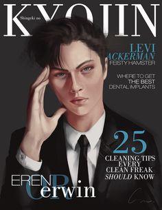 SnK Magazine: Levi by putemphasis.deviantart.com on @DeviantArt