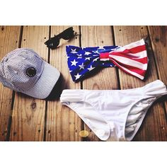 Ohhhh, I want a flag bathing suit so so bad! This one is perfect for the Fourth of July!!