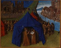 St. Jacques appears to Charlemagne - Jean Fouquet
