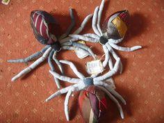 Monster & Tiere - Krawattenspinnen - ein Designerstück von Zwitterspinne bei…