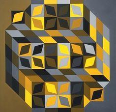 Victor Vasarely, 'Tridim-Cristal-W ,' 1968-1969, Ascaso Gallery
