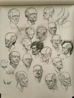Face Drawing Reference, Art Reference, Sketchbook Drawings, Art Sketches, Volume Art, Anatomy Sculpture, Human Anatomy Drawing, Drawing Heads, Anatomy Sketches