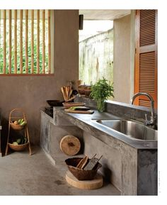 Basic Kitchen Area Concepts For Inside or Outside Kitchen areas – Outdoor Kitchen Designs Dirty Kitchen Design, Outdoor Kitchen Design, Kitchen Designs, Dirty Kitchen Ideas, Kitchen Small, Outdoor Kitchens, Kitchen Interior, Home Interior Design, Kitchen Decor
