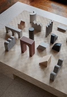 Note Design Studio champions closed-loop sustainability with Formations installation in Milan Ppt Design, Design Blog, Note Design Studio, Notes Design, Model Tree, Landscape Model, Sculptures Céramiques, Arch Model, Milan Design