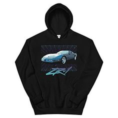 JG Infinite 1964 Chevy Corvette Coupe Unisex Hoodie
