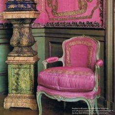 French Decor in Bright Pink